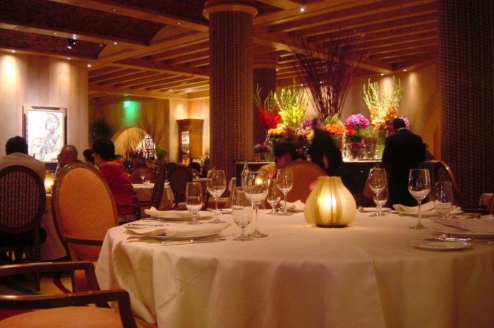 12. You're spoiled when it comes to restaurants.