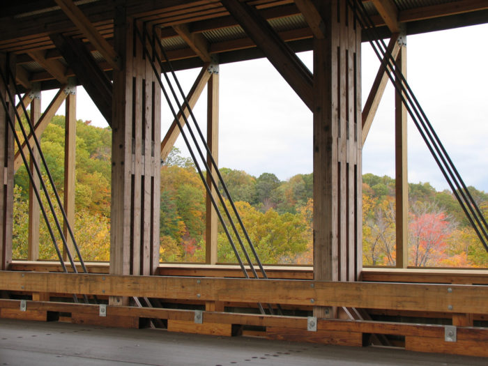 5. The Covered Bridges Byway (the Ashtabula County covered bridge tour)