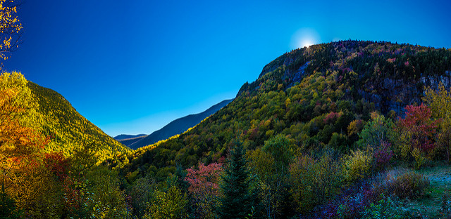 5. Check out the colors in this shot of Crawford Notch.