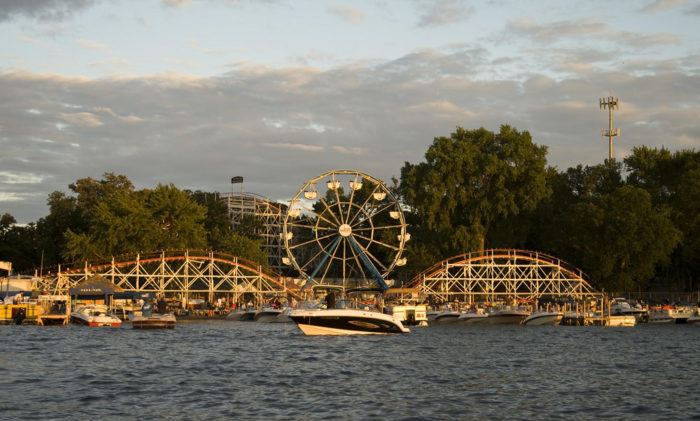 As soon as the sun starts to sink, it's the perfect time to catch your thrills at Arnolds Park Amusement Park. When you've had your thrills for the day, head back to the resort and power up for tomorrow's fun.
