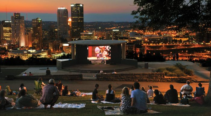3. Lie under the stars at Cinema in the Park.
