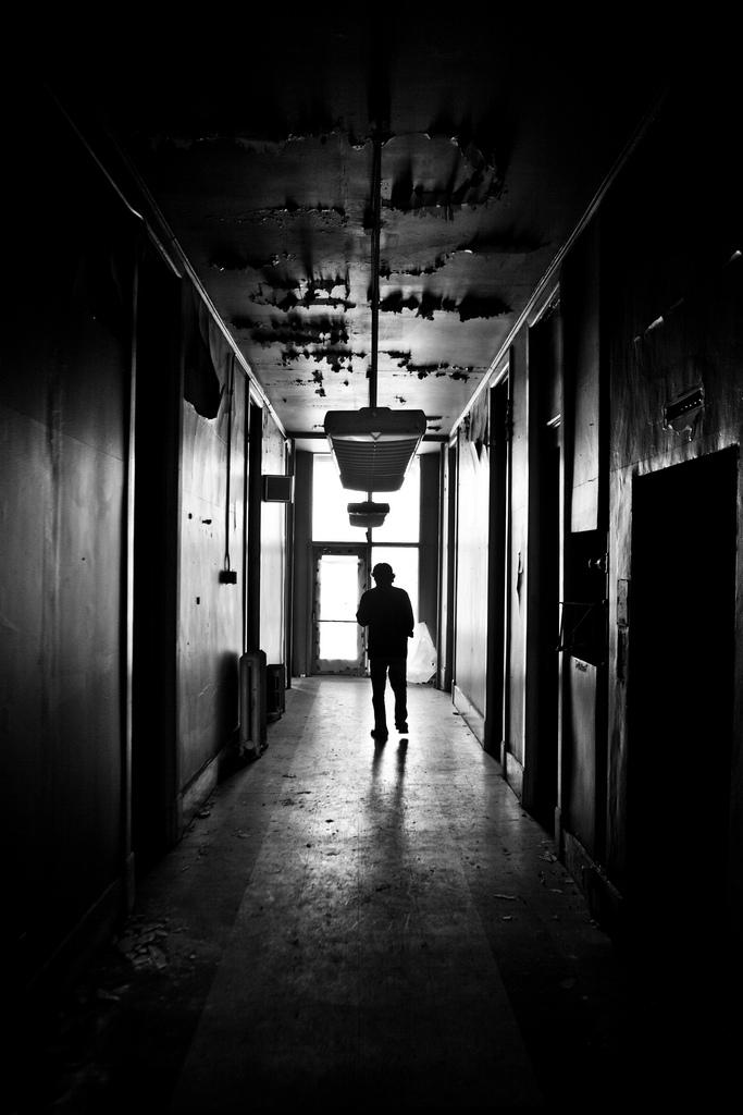 11. Nothing like a creepy hallway...