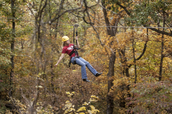 3. Branson Zipline and Canopy Tours