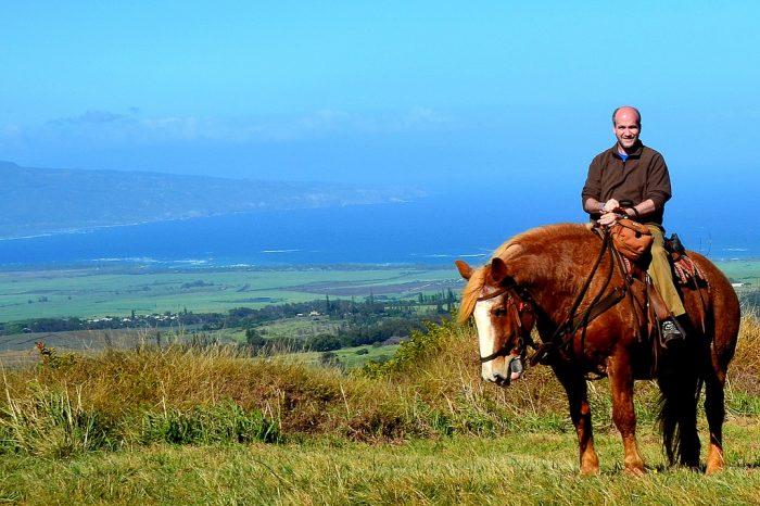 3. Go for a horseback ride.