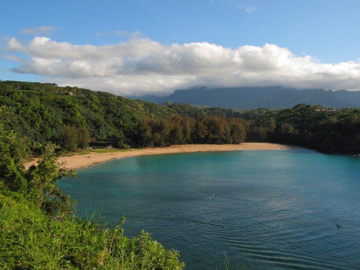 3. Kalihiwai Beach, Kauai