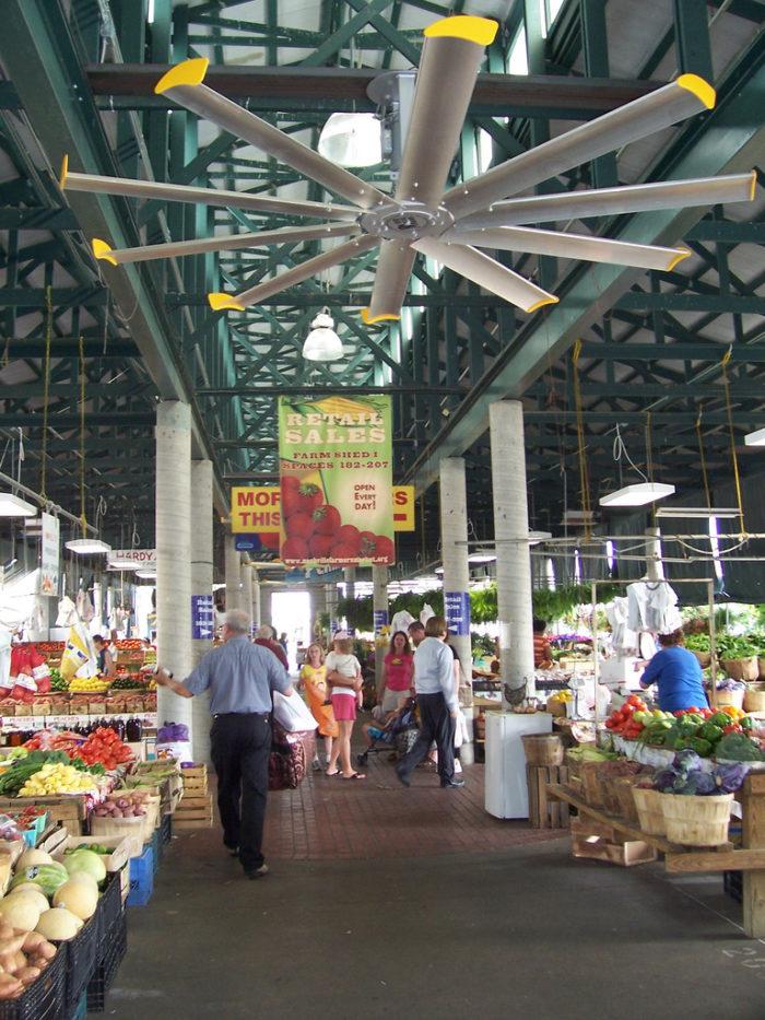 3. Wander the stalls at the Nashville Farmer's Market.