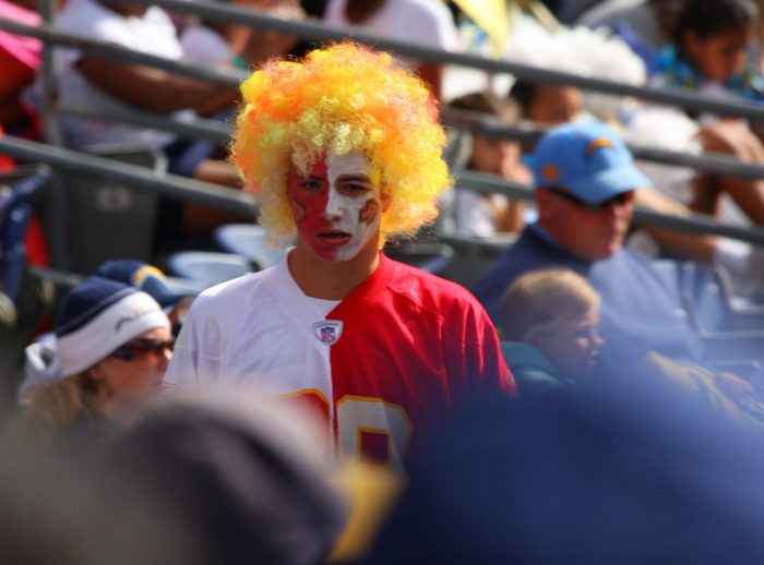 8. ...and visions of a Chiefs winning season are dancing through our heads.