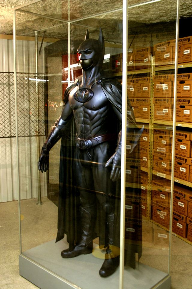 Actual film costumes worn by George Clooney...