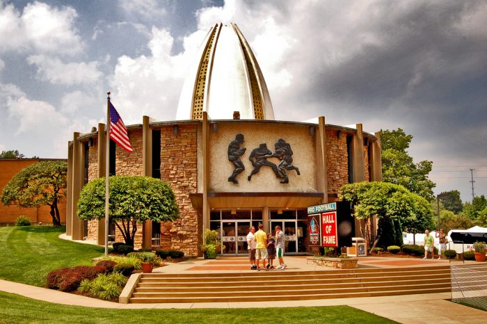 6. Pro Football Hall of Fame