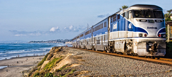 11. The Pacific Surfliner, California