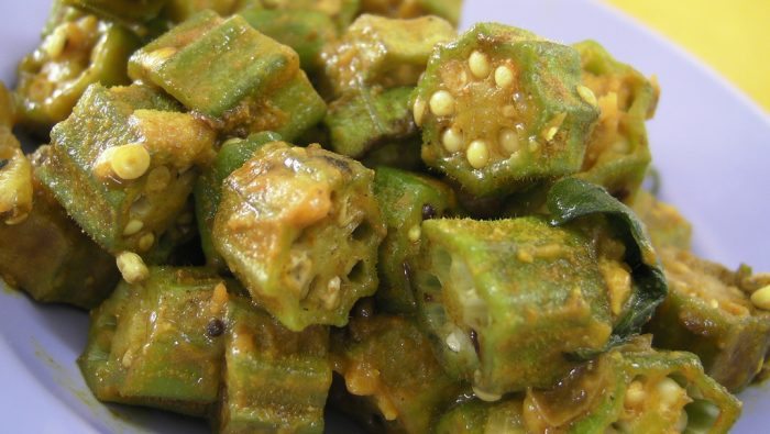 12. One Word: Okra.