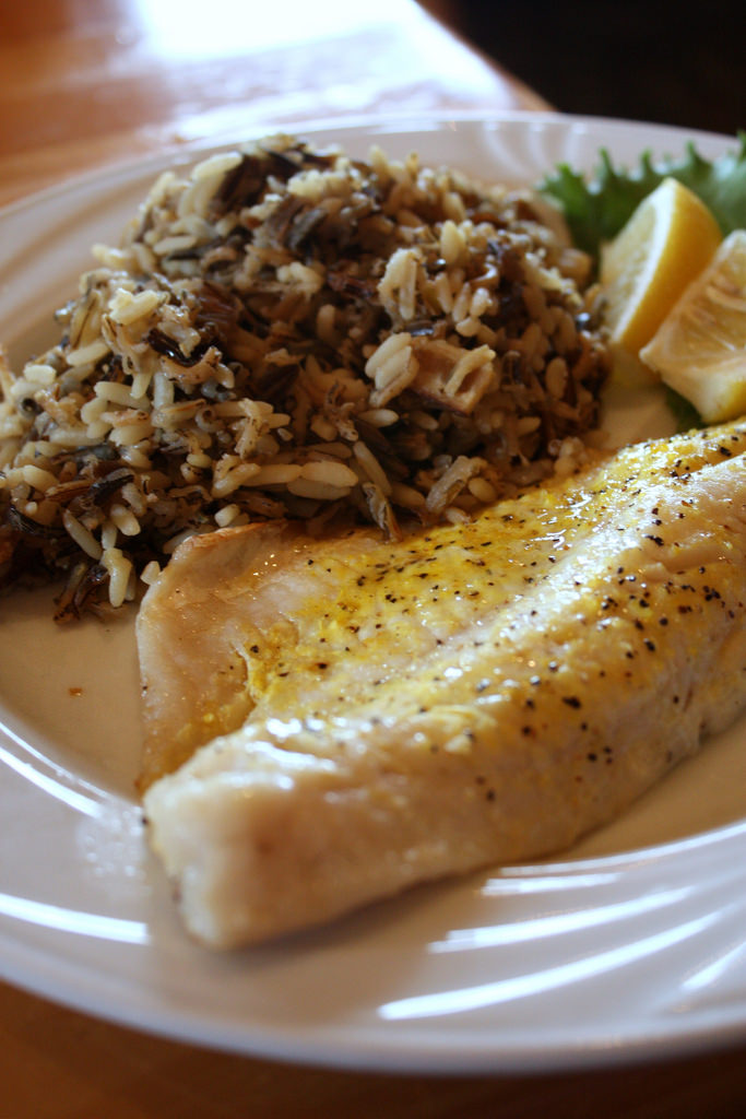 6. If you catch any walleye, fry it up and eat it with wild rice, or get some at one of the many amazing restaurants in North Dakota.