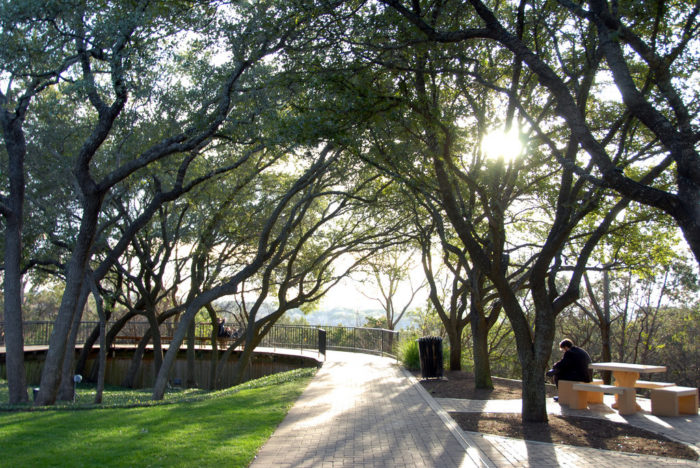 8. The Arboretum of Austin is a fantastic place to relax and take some chill pics.