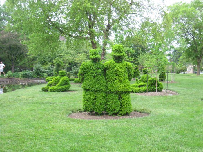 Unique Little Known Topiary Park In Columbus Ohio