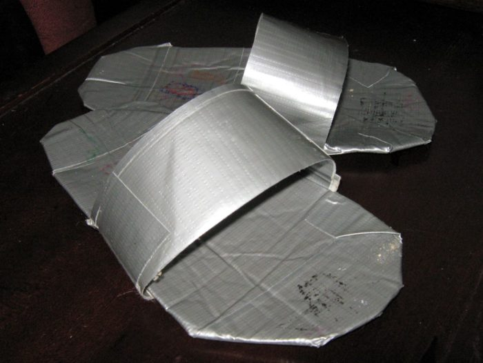 11. Never underestimate the power of duct tape.