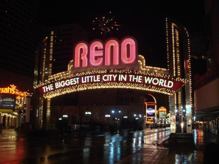 3. Reno's casinos entertain us.