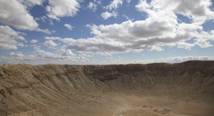 5. Arizona is home to the best preserved meteor crater in the world, all thanks to our relatively dry climate.