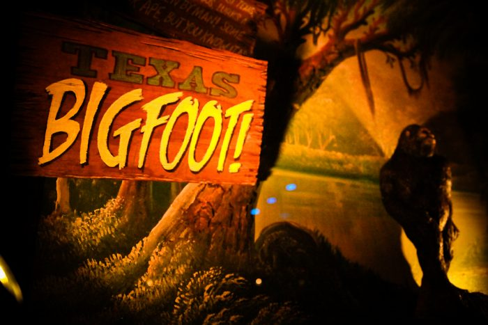 7. Austin has its very own Bigfoot - named Hairy Man, who allegedly lives on Hairy Man Road.