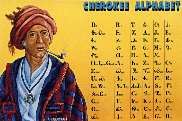 6. Georgia is home to the invention of the Cherokee written alphabet.