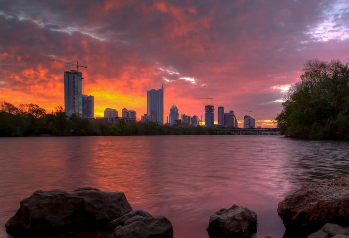 13. Hike, bike, or jog the entire Town Lake Trail and reward yourself with a beautiful Austin sunset.