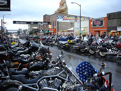 2. Sturgis Motorcycle Rally is a big deal.
