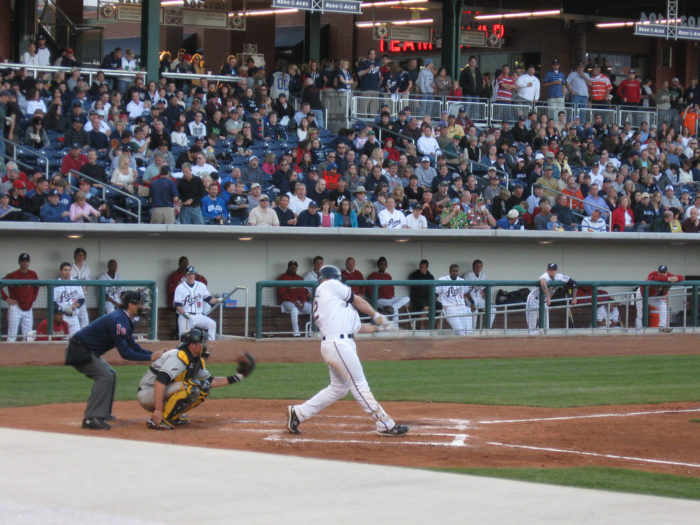 4. You can cheer for the Reno Aces.