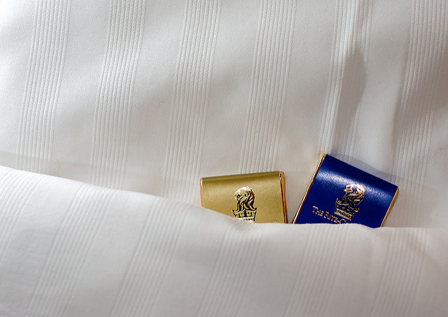 """9. Sheets in hotels must measure 99"""" long by 81"""" wide...exactly."""