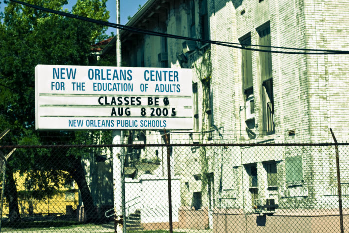5) New Orleans Center for the Education of Adults - Then