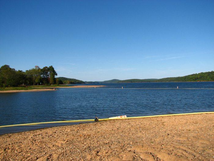 4. Badin Lake Campground