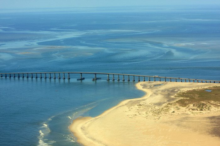 3. And while you're in the area, make the most of your time in the amazing Outer Banks. This strip of barrier islands spans 200 miles along the NC coastline.