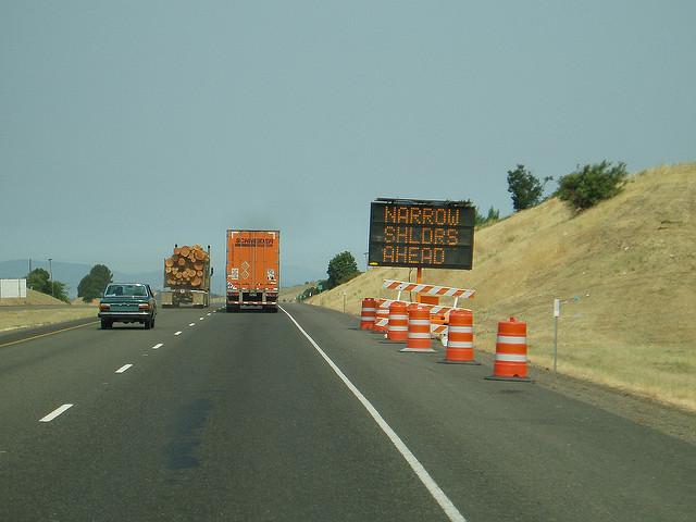 5. Road construction.