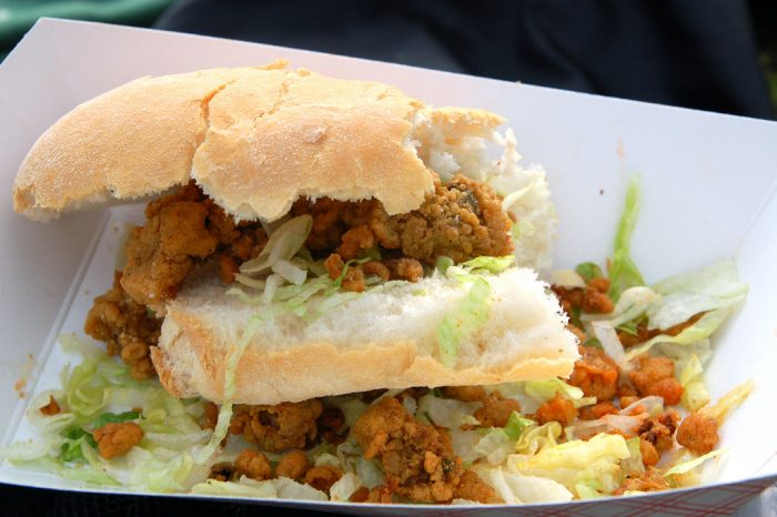 5. Being addicted to po-boys.