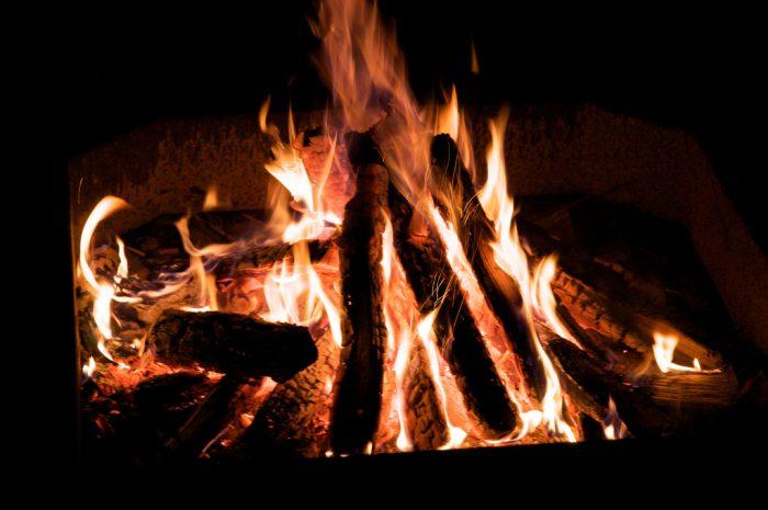 3. Tell stories around the campfire at Waconda State Park.
