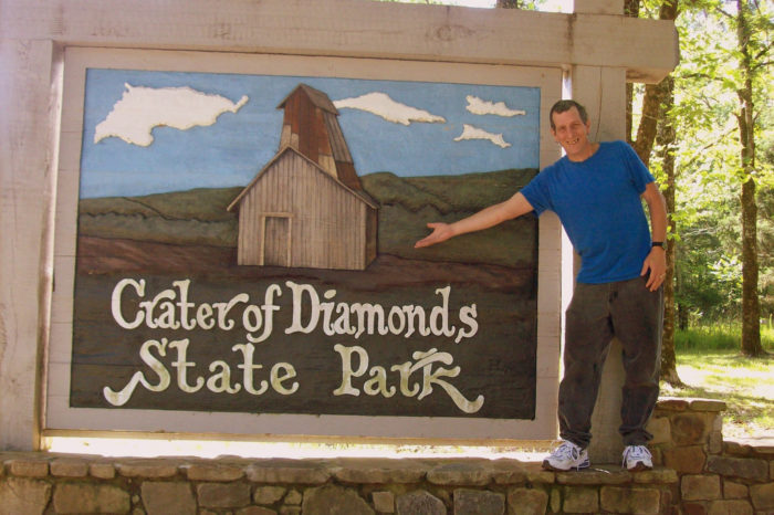 8. Murfreesboro began because a merchant lived there, not because of the diamond mine.