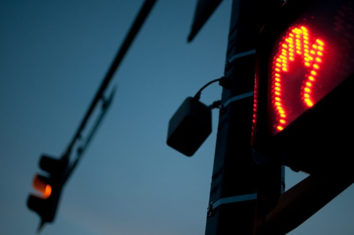 6. A person cannot intentionally activate a crossing signal to stop traffic.