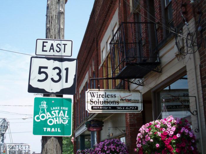 3. Lake Erie Coastal Ohio Trail (the U.S.Hwy 50/SR 531 trip)