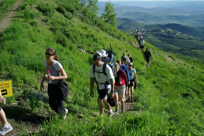 2. Go for a hike instead of watching TV.
