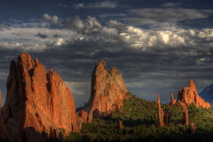 1. Garden of the Gods (Colorado Springs)