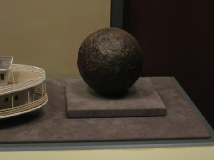 """2. A Hot Springs man thought he'd found a cannonball. As people do, he took the """"cannonball"""" home. Well, it turned out to be a Civil War-era landmine and the incident required the evacuation of 20 homes."""