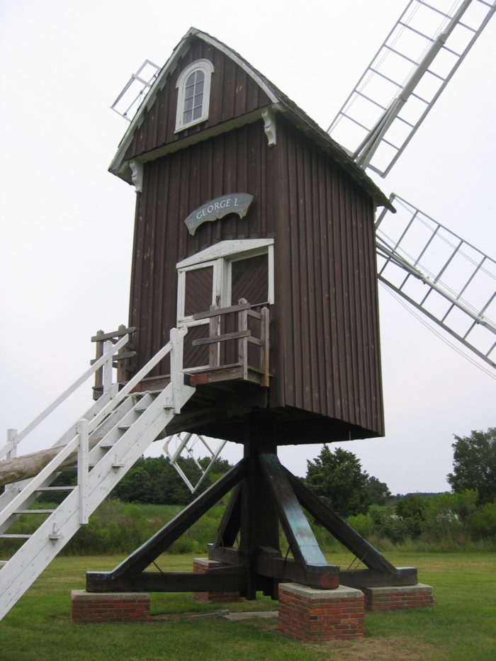 5. Head to Dorchester County to see the historic Spocott Windmill, built in 1972.