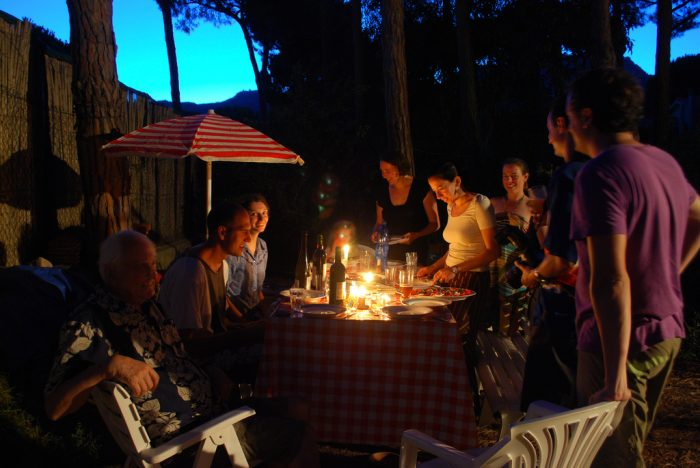 14. Stay in and invite your friends, old and new, over for a big Maine dinner.
