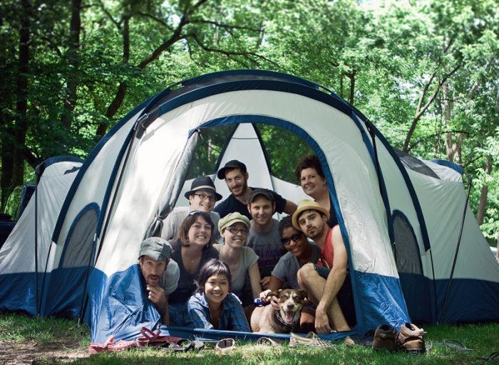 9. Camp at Montauk State Park.