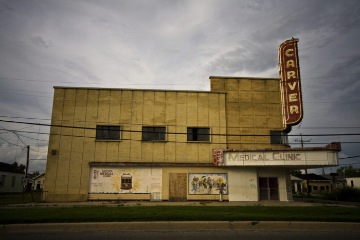 7) Carver Theater - Then