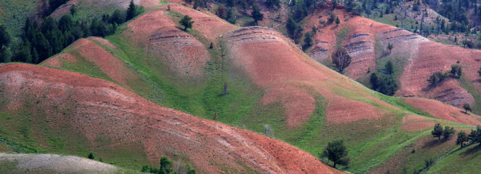 9. It looks like you might find dwarves wandering around The Red Hills in Gros Ventre Valley.