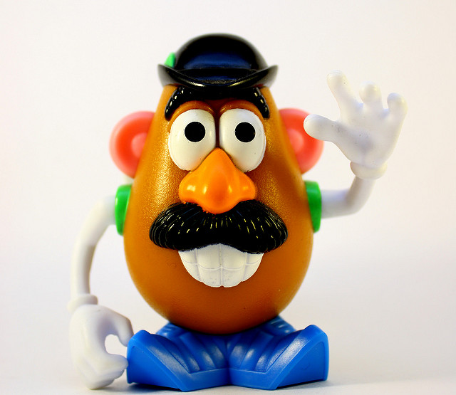 10. Mr. Potato Head