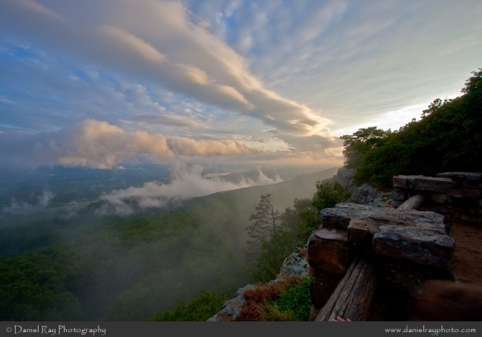 6. Let Mount Magazine's Southern Overlook take your breath away.