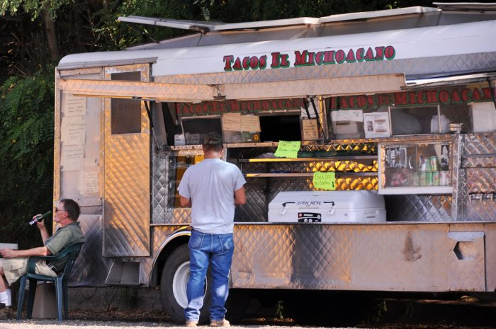 7. Enjoyed an authentic taco from a taco truck.