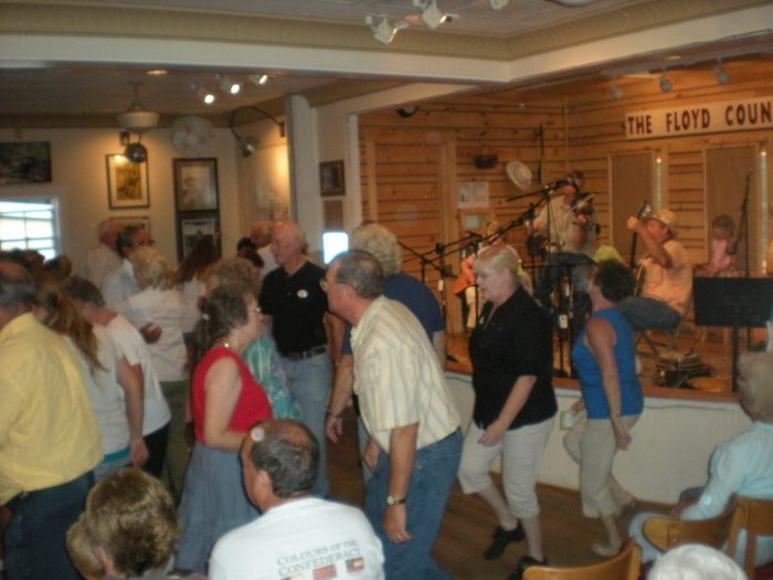 10. Experiencing boot-stomping bluegrass at the Floyd Country Store