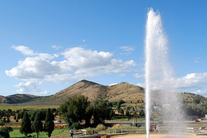 9. Soda Springs: Where the Oregon Trail came to life.