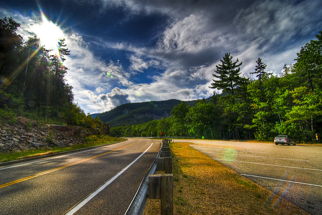 4. Take in the views from The Kancamagus Highway.